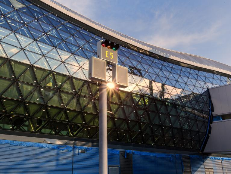 Frontal Facade View | Zagreb International Airport